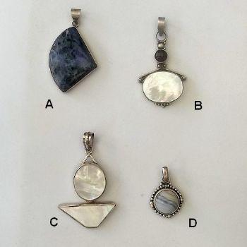Varied Indian Pendants 1